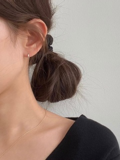 One Touch Basic Earring (2color)