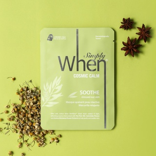 [When mask] Simply When Cosmic Calm Soothe Sheet Mask
