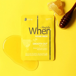 [When mask] Simply When Future Fresh Smooth Out Sheet Mask