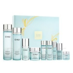 OHUI MIRACLE AQUA SET 1.25kg (SKIN 150ml + SKIN 20ml + EMULSION 130ml + EMULSION 20ml + ESSENCE 20ml + CREAM 30ml + ESSENCE 3ml + CREAM 7ml + EYE SERUM 10ml_