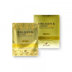 [3W CLINIC] Collagen & Luxury Gold Energy Hydrogel Facial Mask 1pc 30g