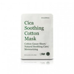 [SEANTREE] Cica Soothing Cotton Mask 30ml * 1pcs