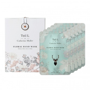 TOI:L X CATHERINE MULLER FLORAL HAND MASK BOX VER.