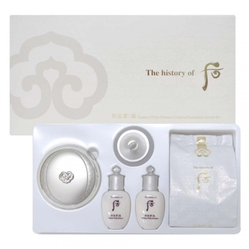 THE HISTORY OF WHOO MOISTURE CUSHION FOUNDATION SET 5ea