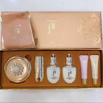 THE HISTORY OF WHOO RADIANT ESSENCE CUSHION SET 7ea