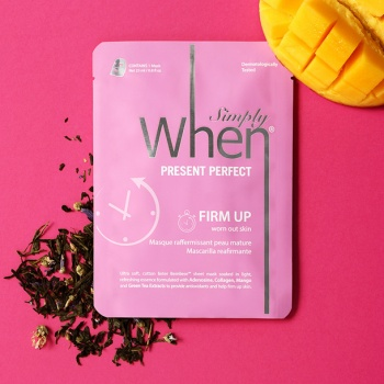 [When mask] Simply When Present Perfect Firm Up Sheet Mask