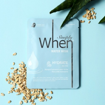 [When mask] Simply When Water Wish Hydrate Sheet Mask