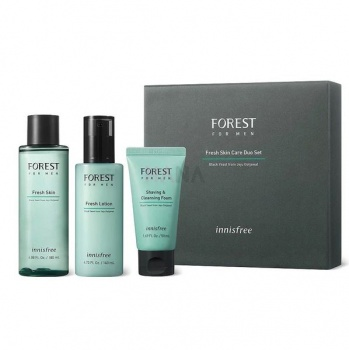 innisfree Forest For Men Skin, Lotion, CLEANSING FOAM Set 3ea