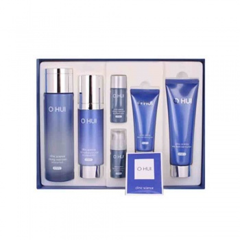 OHUI Clinic Science Toner / Moisturizer / Cleansing Foam Set