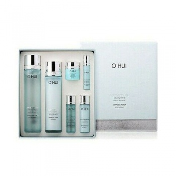 OHUI Miracle Aqua Skin Softener / Emulsion Set