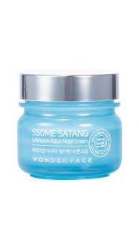 WONDERFACE - Ssome Satang HAWAIIAN AQUA Moist Cream