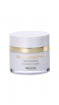 NSUUS - 24K Gold Snail Cream 50ml