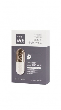 CELLMIIN - D-Tox Deep Cleansing Mask (Box/10PCS)