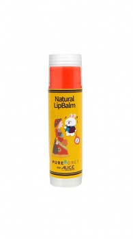 PUREFORET - Natural Tinted Lip Balm / Grapefruit Tea_5ml