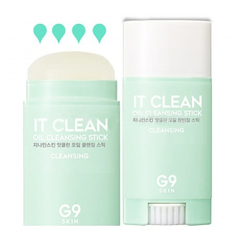 [G9SKIN] It Clean Oil Cleansing Stick 35g / Powerful deep cleansing