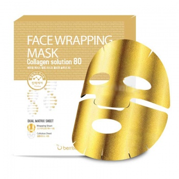 [BERRISOM] Face Wrapping Mask Collagen Solution 80 27g