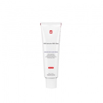 [TOSOWOONG] SOS Intensive Red Clinic Ovalicin Skin Clear Cream