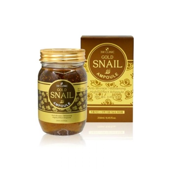 [3W CLINIC] Gold Snail Ampoule 250ml