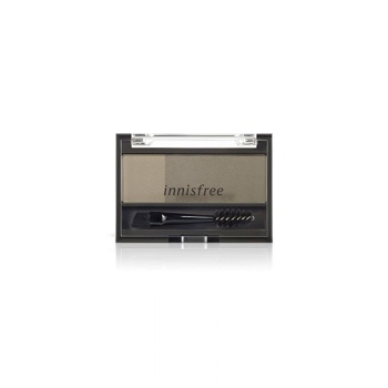 [INNISFREE] Two Tone Eyebrow Kit #Gray 3.5g