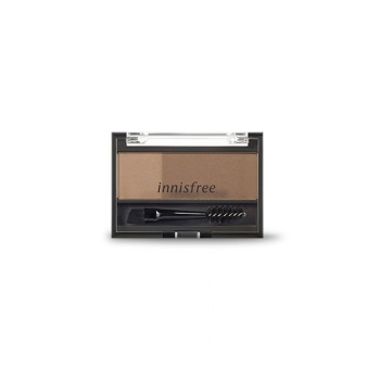 [INNISFREE] Two Tone Eyebrow Kit #Brown 3.5g