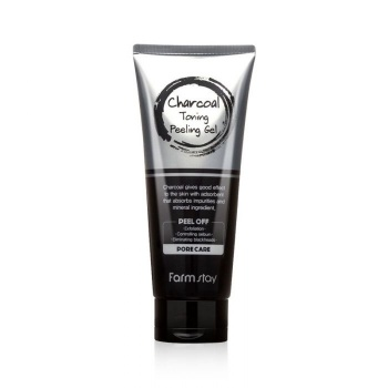 [FARM STAY] Charcoal Toning Peeling Gel 180ml