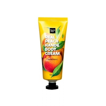 [FARM STAY] Real Peach Hand & Body Cream 100ml