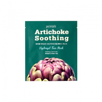 [PETITFEE] Artichoke Soothing Hydrogel Face Mask 1pcs 32g