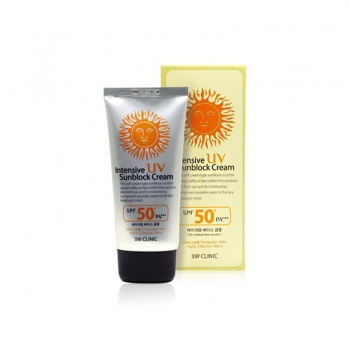 [3W CLINIC] Intensive UV Sunblock Cream 70ml