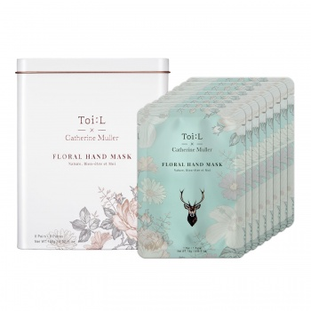 TOI:L X CATHERINE MULLER FLORAL HAND MASK TIN VER.