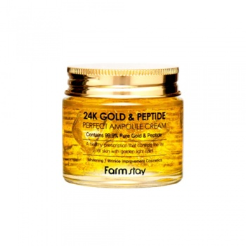 Farmstay 24K Gold and Peptide Perfect Ampoule Cream